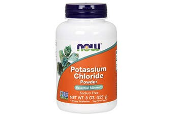 Now Foods - Potassium Chloride Powder, 227g