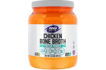 Now Foods Sports Natural beef bone broth concentrate powder Soy & Dairy Free 544g