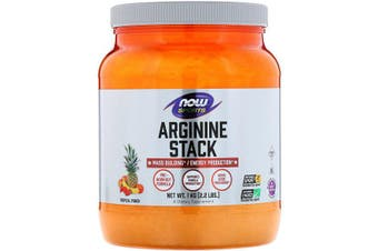 Now Foods Sports Arginine Stack Mass Building & Energy Production - Tropical Punch 1kg