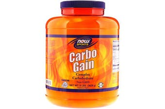 Now Foods Sports Carbo Gain Powder Complex Carbohydrates Source 3.62kg