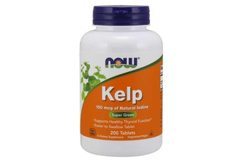 Now Foods - Kelp, 200 Tablets