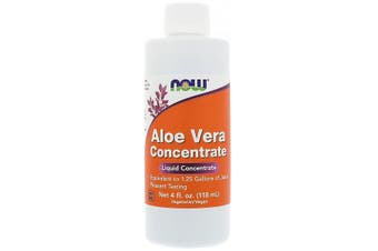 Now Foods Aloe Vera Liquid Concentrate 118ml