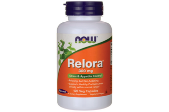 Now Foods - Relora Supports Healthy Cortisol Levels - 300mg 60 Capsules