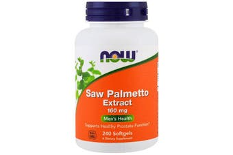 Now Foods Saw Palmetto Extract Supports Healthy Prostate Function - 160mg, 240 Softgels