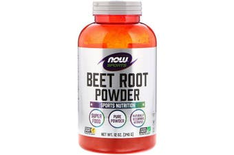 Now Foods Sports 100% Pure Natural Whole Beet Root Powder NON-GMO Vegan Friendly Nitrates 340g