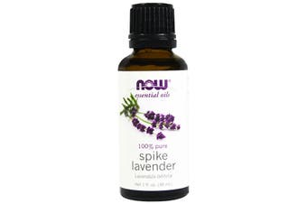 Now Foods Essential Oils 100% Pure Spike Lavender Oil 30ml