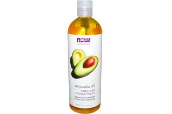 Now Foods Solutions Avocado Oil 100% Pure Conditioner Moisturiser Skin & Scalp Care 473ml