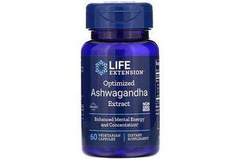 Optimized Ashwagandha Extract - 60 Vegetarian Capsules