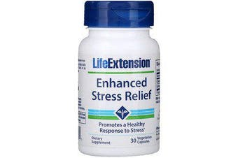 Life Extension Enhanced Stress Relief - 30 Vegetarian Capsules