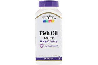 21st Century Fish Oil - 1200mg, 90 Softgels