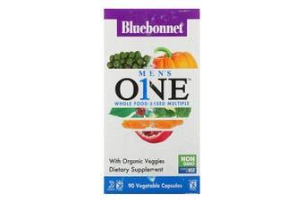 Bluebonnet Nutrition, Men's ONE, Whole Food-Based Multiple, 90 Vegetable Capsules