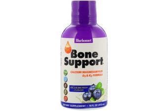 Bluebonnet Nutrition, Liquid Bone Support, Blueberry Flavor, 472 ml