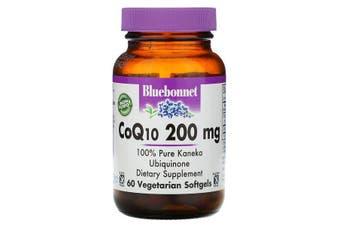 Bluebonnet Nutrition, CoQ10, 200 mg, 60 Veggie Softgels