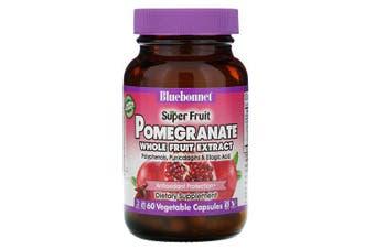 Bluebonnet Nutrition, Super Fruit, Pomegranate Whole Fruit Extract, 60 Vcaps
