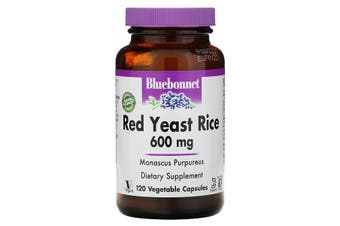 Bluebonnet Nutrition, Red Yeast Rice, 600 mg, 120 Vegetable Capsules