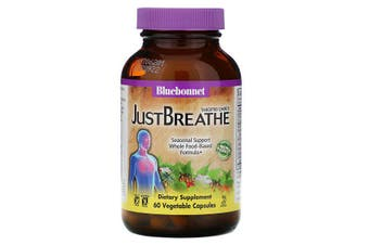 Bluebonnet Nutrition, Targeted Choice, JustBreathe, 60 Vegetable Capsules