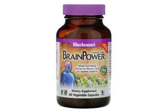 Bluebonnet Nutrition, Targeted Choice, BrainPower, 60 Vegetable Capsules
