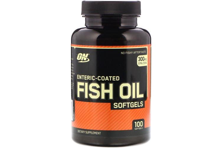 Optimum Nutrition Enteric-Coated FISH OIL - 100 SOFTGELS