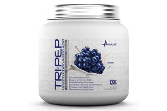 Metabolic Nutrition Tri-Pep Branch Chain Amino Acid Tripeptide BCAA Grape 400g