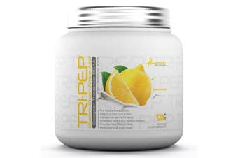 Metabolic Nutrition Tri-Pep Branch Chain Amino Acid Tripeptide BCAA Lemonade 400g