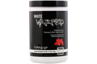 Controlled Labs, White Warped, Preworkout, Strawberry Jelly Bean, 330g