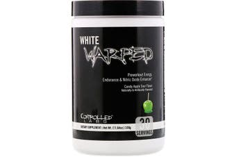 Controlled Labs, White Warped, Preworkout, Candy Apple Sour, 330g