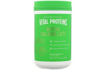 Vital Proteins, Matcha Collagen Latte, Unflavored, 329 g