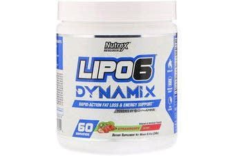 Nutrex Research Lipo-6 Dynamix - Strawberry Lemonade