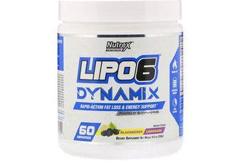 Nutrex Research Lipo-6 Dynamix - Blackberry Lemonade