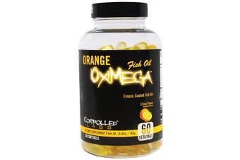 Controlled Labs, Orange OxiMega Fish Oil, Citrus Flavor, 120 Softgels