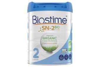 Biostime Premium Organic Follow On Baby Formula Powder Stage 2 800g