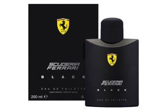 Scuderia Ferrari Black for Men EDT 200ml