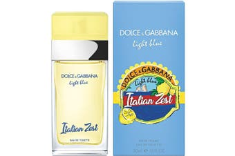 Light Blue Italian Zest for Women EDT 50ml