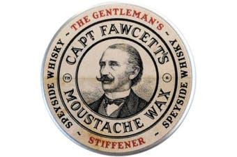The Gentleman Speyside Whiskey Stiffener Moustache Wax 15ml