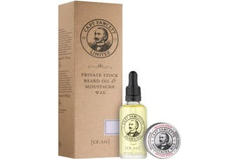 Private Stock Beard Oil And Moustache Wax Set 65ml