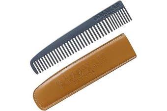 Metal Beard And Moustache Comb 1pcs