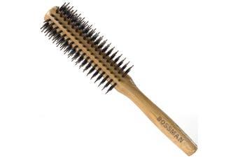 Round Boar Hair And Nylon Bristle Brush 1pcs