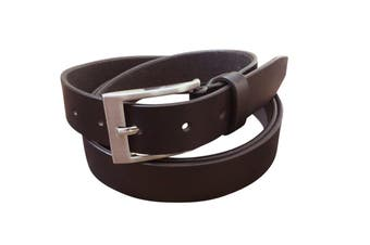 Jacaru Leather Belt 30mm - Brown - 40""