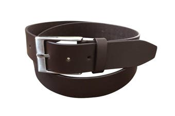 Jacaru Leather Belt 40mm - Brown - 38""