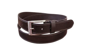 Jacaru Leather Belt 35mm - Brown - 30""