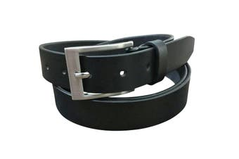 Jacaru Leather Belt 40mm - Black - 32""