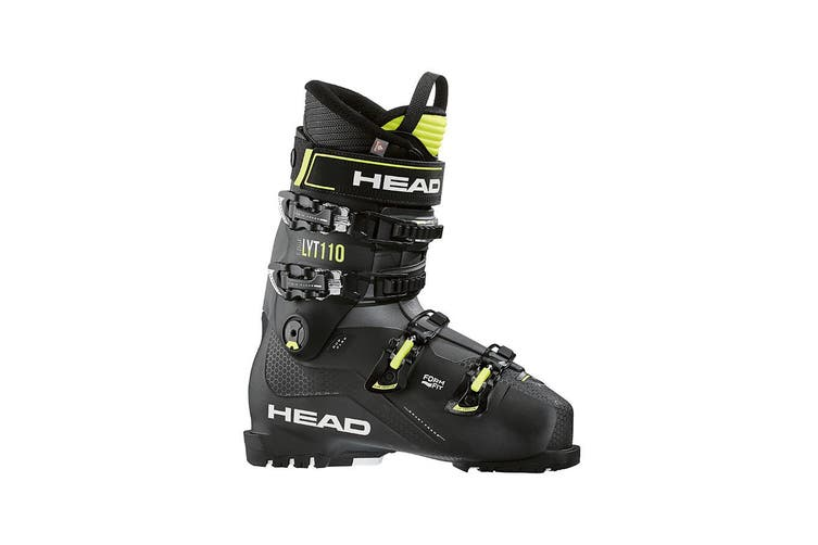 Head Edge LYT 110 Allride Alpine Ski Boots Black/Yellow Size 27.5