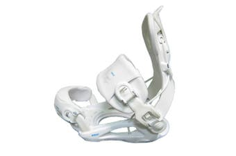 SP Snowboard Bindings RAGE FT 720 White