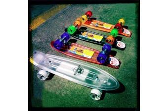 Adrenalin Rocket Old School Skatie 21 x 6 Complete Skateboard