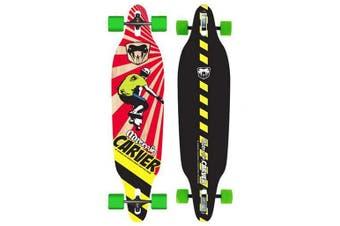 Adrenalin Carver Drop-Thru Street 38 Skateboard