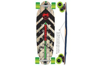 Adrenalin GTR Racer Downhill 38x10 Complete Skateboard