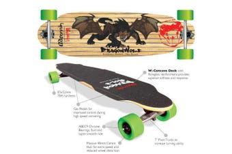 Adrenalin Dragonwolf Downhill 36x10 Complete Skateboard