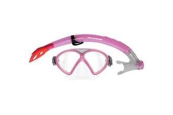 Mirage Comet Silitex Junior Mask and Snorkel Sets Pink