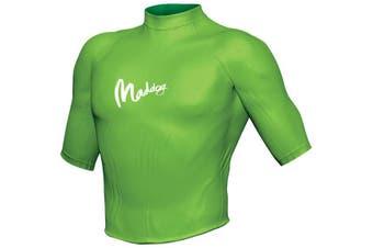 Maddog Men's Short Sleeve Rash Vest XL Lime