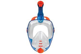 Mirage Galaxy 2 Mask & Snorkel Adult Set - Blue - L/XL